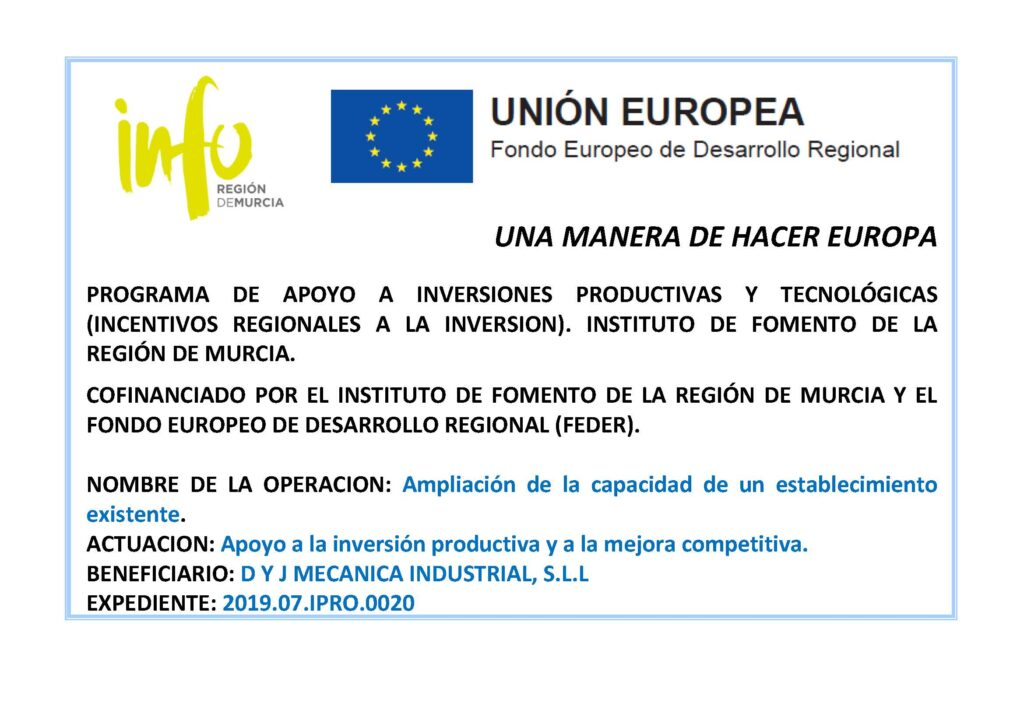 foto fondo europeo de desarrollo regional